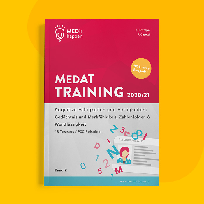 MEDithappen MedAT Training 2021, Band 2